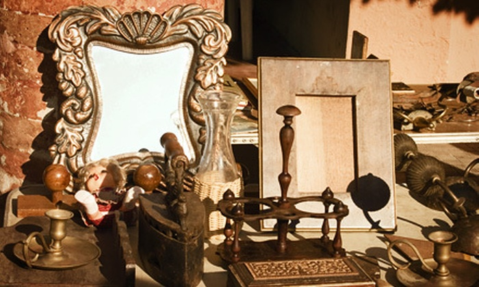 View - North Utica: Antiquing-Event Package for Two or Four to the Old Forge Antiques Show & Sale from View (Up to 55% Off)