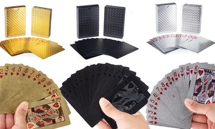 1, 2 o 3 cajas de cartas de poker