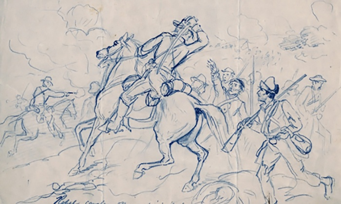 """Mississippi Museum of Art - Downtown Jackson: Admission to """"Civil War Drawings"""" for Two, Four, or Six at the Mississippi Museum of Art (50% Off)"""