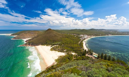 Port Stephens, Hawks Nest: 2, 3 or 4Night Stay for Up to 4 People with Wine and Surfboard Hire at Oceanside Hawks Nest