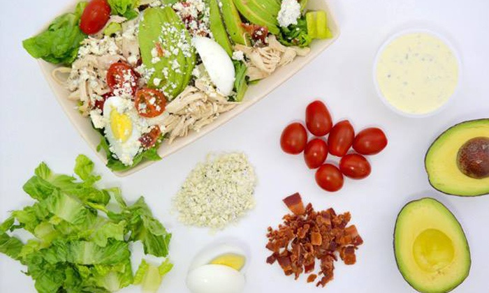 Freshbox - Multiple Locations: $14 for Two Groupons, Each Good for $10 Worth of Salads and Wraps at Freshbox ($20 Value)