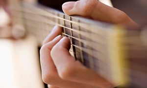 Just Rock Enterprises: One or Three 30-Minuter Piano, Guitar, or Voice Lessons at Just Rock Enterprises (Up to 54% Off)