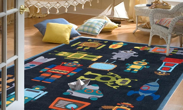 Momeni Lil Mo Kids' Area Rugs: $88.99 for a 4'x6' Momeni Lil Mo Kids' Area Rug ($499 List Price). Two Designs Available. Free Shipping and Returns.