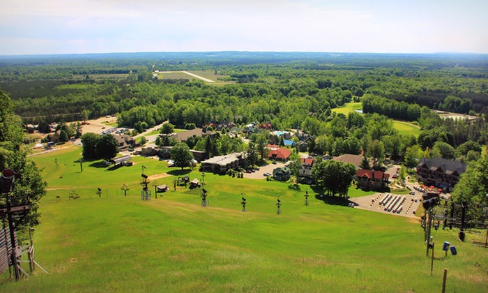 Crystal Mountain - Thompsonville, MI: One-Night Stay with Options for Golf at Crystal Mountain in Northern Michigan