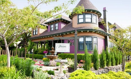 Groupon Deal: 1- or 2-Night Stay for Two in a Suite with a Bottle of Wine at Vintage Towers Bed & Breakfast Inn in Cloverdale, CA