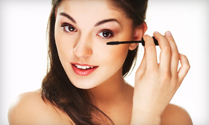 SKYN LOUNGE - Bellewood: $42 for a Makeup Application or Lesson with Faux Lashes at Skyn Lounge ($85 Value)