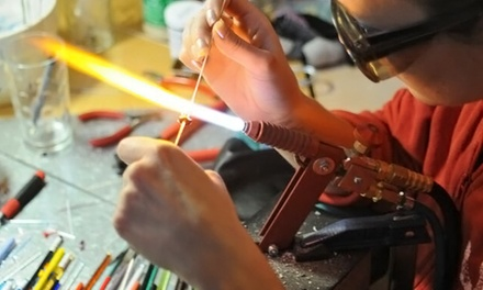 Beginners Glass Bead-Making Class for One or Two at Flo Glassblowing (Up to 47% Off)