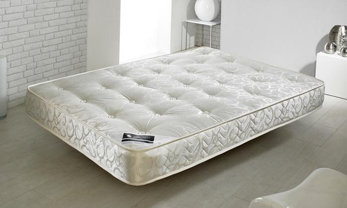 Tufted mattress groupon goods for Beds groupon