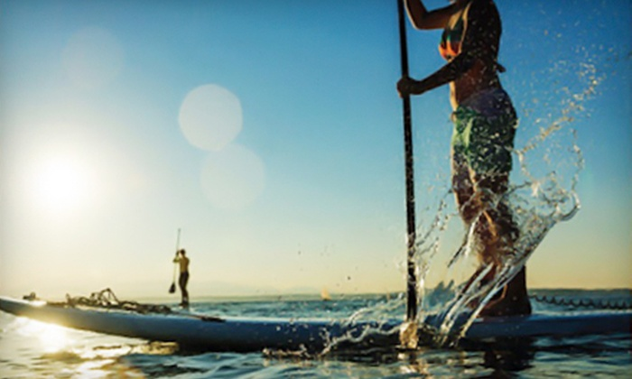 Cascade Paddle Boards - Kent: $729 for a 12 Ft. Wai Sup Makai Fiberglass Standup Paddleboard from Cascade Paddle Boards ($1,400 Value)