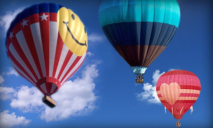 Air Balloon Sports - Fenton: Hot Air Balloon Ride and Champagne for One, Four, or Eight from Air Balloon Sports (Up to 52% Off)