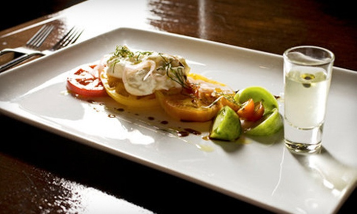 Bashan Restaurant - Locatie Gouda: $25 for $50 Worth of New American Cuisine and Drinks at Bashan Restaurant