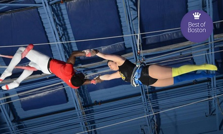 $40 for a Flying-Trapeze Class at Trapeze School New York Beantown (Up to $80 Value)