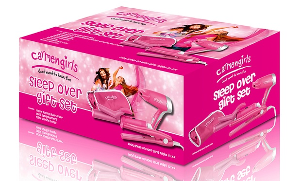 Carmen Travel Hair Care Set Groupon Goods