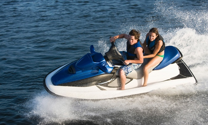 Riviera Nautica - Sunny Isles Beach: $94 for a One-Hour Jet-Ski Rental for One or Two People from Riviera Nautica ($150 Value)