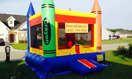 Six-Hour Bounce-House Rental from Whaley's Inflatables (45% Off)