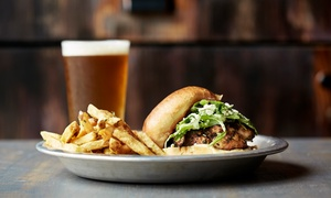 Rum Runners: Burgers and Sandwiches at Rum Runners (Up to 45% Off). Three Options Available.