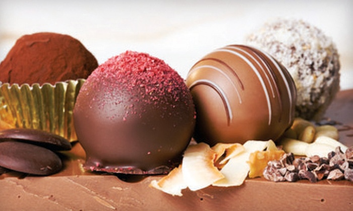 Concertos in Chocolate - Gunbarrel: Custom Gift Basket or $10 for $20 Worth of Truffles and Confections at Concertos in Chocolate in Boulder