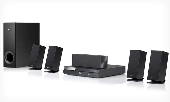 LG Blu-ray Disc Home Theater System with 3D Capabilities: $249.99 for an LG 3D-Capable Blu-ray Disc Home Theater System ($329.99 List Price). Free Shipping and Returns.