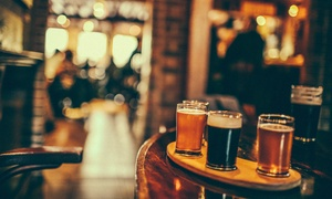Beerhouse: Craft Beer Tasting Session with Pizza for Two at Beerhouse