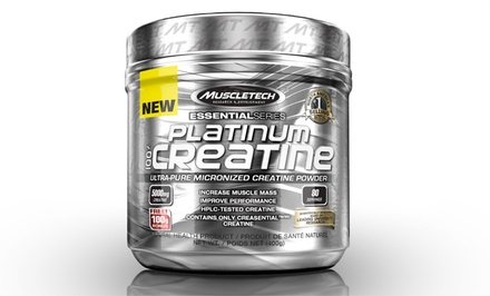 MuscleTech Platinum Micronized Creatine Powder; 1 or 2 Tubs from $18.99–$36.99