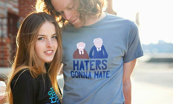 BustedTees.com: Humorous T-Shirts from BustedTees.com (Up to 52% Off). Two Options Available.