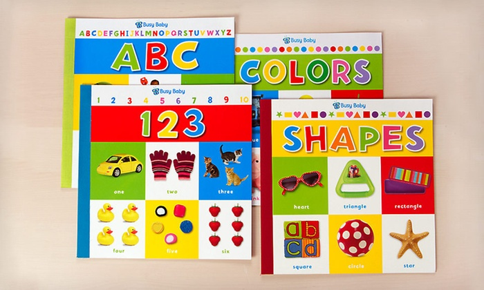 Four Busy Baby Giant Books: $12 for a Four-Pack of Busy Baby Giant Books ($39.96 List Price)