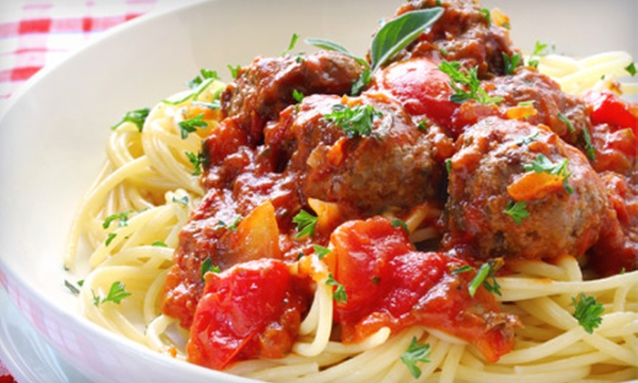 Capo Pizzeria - Greenbrier East: $21 for Pasta Dinner for Two at Capo Pizzeria (Up to $42.85 Value)