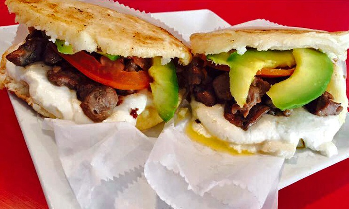 The Spot - Mishawaka: Venezuelan Cuisine for Two or Four or for Take-Out at The Spot (Up to 40% Off)