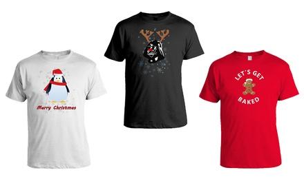 Men's Novelty Christmas T-Shirts