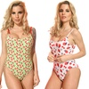 Dippin' Daisy's Fruity Vintage Junior's One-Piece Swimsuits