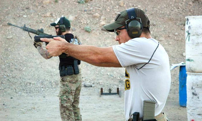 Primitive Combat Systems - South Mountain: Six-Hour Pistol- or Carbine-Evolution Course for One or Two from Primitive Combat Systems (49% Off)