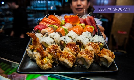 £20 for Sushi, Sashimi and Premium Champagne worth £40 at The Crazy Bear (50% off)