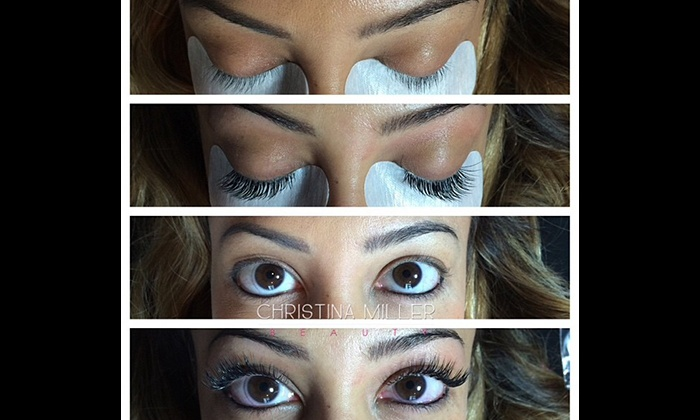Christina Miller Beauty, LLC - Christina Miller Beauty, LLC: Mink or Silk Eyelash Extensions with Optional Fill at Christina Miller Beauty, LLC (Up to 64% Off)