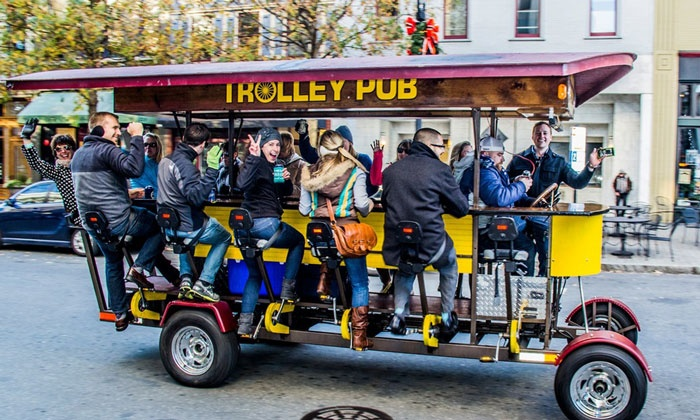Trolley Pub Charlotte - Optimist Park: Trolley Ride for 2, 4, or 14 at Trolley Pub Charlotte (Up to 47% Off)
