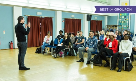 Westminster: Public Speaking Practice for Beginners, 3 April - 2 October (Up to 87% Off)