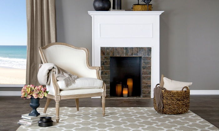 French Cottage-Style Club Chair | Groupon Goods