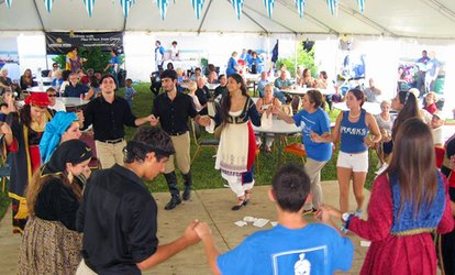 Single-Day Festival Entry for Two or Four People at North Miami Greek Food & Wine Festival (Up to 57% Off)