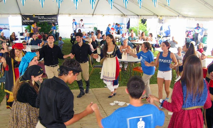 North Miami Greek Festival -  Greek Orthodox Church of Annunciation Festival: Admission with Meal for One, Two, or Four to North Miami Greek Festival on October 31–November 2 (Up to 52% Off)