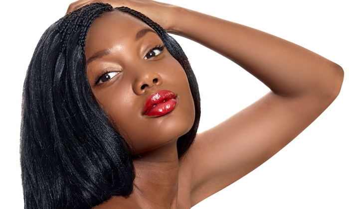Brice's Hair Designs - Oxon Hill: Hair Package with Relaxer or Blowout or Kid's Shampoo and Style or Braids at Brice's Hair Designs (55% Off)