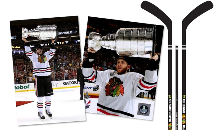 Kane and Toews Meet and Sign Event - Downtown: Entry to December 1 Event and Hockey Memorabilia to be Signed by Jonathan Toews and Patrick Kane (Up to48% Off)