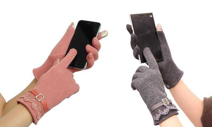 Women's Elegant Touchscreen Gloves