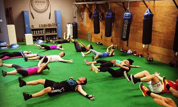 Uprising - Cornelius: $49 for 10 Dynamic Group Fitness Sessions at Uprising ($100 Value)