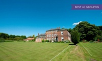 East Riding: 1 or 2 Nights For Two With Breakfast; With Option For Dinner and Afternoon Tea at the Rowley Manor