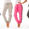 Bottoms Up Lace French Terry Long Pants