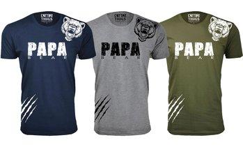 Men's Father's Day Papa Bear T-Shirts. Plus Sizes Available.