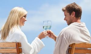 Santa Barbara Sparkling Spa: Massage with Champagne and Foot Treatment at Santa Barbara Sparkling Spa (Up to 66% Off).Three Options Available.