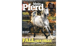 """Eventus Media GmbH: Jahres-Abo (12 Ausgaben) der Zeitschrift """"Mein Pferd"""" (71% sparen*)"""