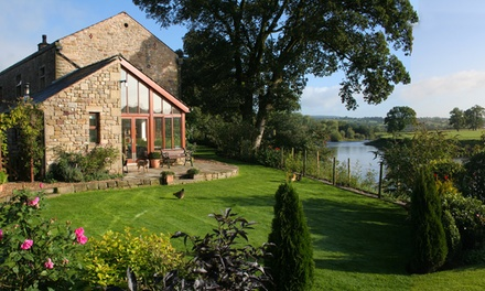 Lancashire: 2Night Stay for Two at Riverside Barn; Summer Dates Available