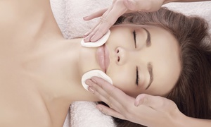 Serene Bodycare: Deluxe Facial with Optional Gel Nails on Hands or Feet at Serene Bodycare (68% Off)