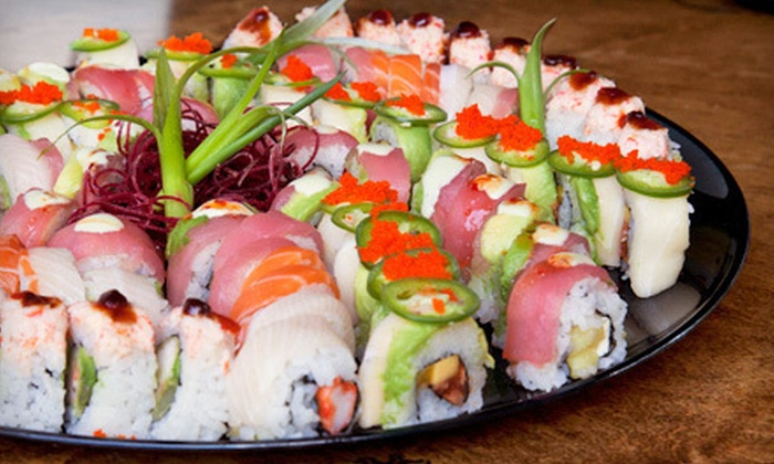 Genki Noodles & Sushi - Multiple Locations: Sushi-Making Class for 1, 2, or 4 or Catering Packages for 8 or 16 from Genki Noodles & Sushi (Up to 64% Off)